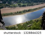 top view of river surrounded... | Shutterstock . vector #1328866325