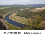 view of river in little willage ... | Shutterstock . vector #1328866328