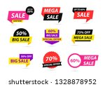 sale tags collection. special... | Shutterstock .eps vector #1328878952