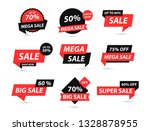 sale tags collection. special... | Shutterstock .eps vector #1328878955
