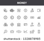 set of 24 money and finance web ... | Shutterstock .eps vector #1328878985