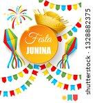 festa junina   text in... | Shutterstock . vector #1328882375