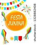 festa junina folklore holiday.... | Shutterstock . vector #1328882408