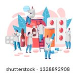pharmacy business medicine drug ... | Shutterstock .eps vector #1328892908
