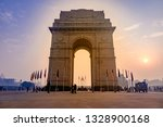 india gate  new delhi  october... | Shutterstock . vector #1328900168