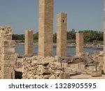 coastal reserve vendicari...   Shutterstock . vector #1328905595