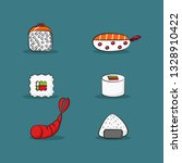 vector collection of catoon... | Shutterstock .eps vector #1328910422