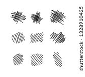 vector collection of hand drawn ... | Shutterstock .eps vector #1328910425
