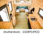 Mobile Tiny House Interior....