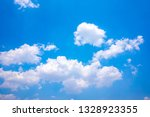 sky blue or azure sky and... | Shutterstock . vector #1328923355