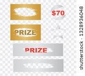 scratch card game  scratch and... | Shutterstock .eps vector #1328936048