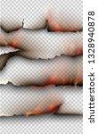 transparent design burning...   Shutterstock .eps vector #1328940878