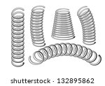 springs | Shutterstock .eps vector #132895862