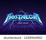 nostalgia for the old days.... | Shutterstock .eps vector #1328964002
