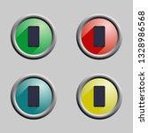 vector image of multi colored...