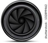 camera lens shutter  vector... | Shutterstock .eps vector #132899462