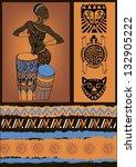 resumo,áfrica,africano,americana,antiga,preto,tranças,gato,cultura,dança,decoração,vestido,bateria,étnica,etnográfico
