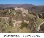 aerial view of the ancient town ... | Shutterstock . vector #1329102782