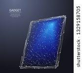 computer tablet device.... | Shutterstock .eps vector #1329158705