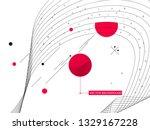 new memphis style vector...   Shutterstock .eps vector #1329167228
