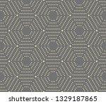 geometric repeating vector... | Shutterstock .eps vector #1329187865