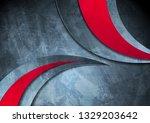 grunge wavy corporate contrast...   Shutterstock .eps vector #1329203642