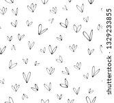 seamless botanical vector... | Shutterstock .eps vector #1329233855