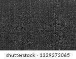 linen texture  dark gray cotton ... | Shutterstock . vector #1329273065