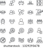 thin line icon set   spoon and... | Shutterstock .eps vector #1329293678