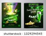 irish holiday saint patrick s... | Shutterstock .eps vector #1329294545