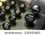 Close Up Of Number Keys On...