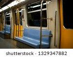 Inside Of Subway Wagon ...