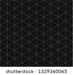 isometric graph paper... | Shutterstock .eps vector #1329360065
