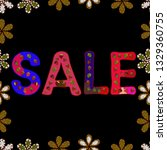 banner clearance sale. picture... | Shutterstock . vector #1329360755