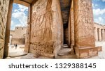 Temple Of Medinet Habu. Egypt ...