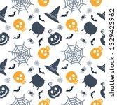 halloween seamless pattern.... | Shutterstock . vector #1329423962