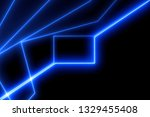 light frame abstract. glow... | Shutterstock . vector #1329455408