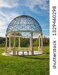 Ornate Gazebo In The Center Of...