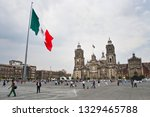 mexico city  mexico   march 23  ... | Shutterstock . vector #1329465788