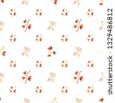 small flowers. seamless pattern ...   Shutterstock .eps vector #1329486812
