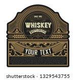 western design for packing | Shutterstock .eps vector #1329543755