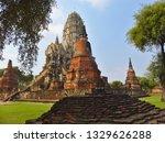 wat ratchaburana is a temple in ... | Shutterstock . vector #1329626288
