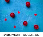 some crimson chocolate... | Shutterstock . vector #1329688532