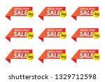 vector collection of special... | Shutterstock .eps vector #1329712598
