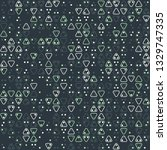 beautiful seamless geometric... | Shutterstock .eps vector #1329747335