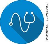 illustration stethoscope icon    Shutterstock . vector #1329813458