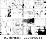 mega set of scratch grunge... | Shutterstock .eps vector #1329840155