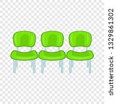 green airport seats icon in...   Shutterstock .eps vector #1329861302