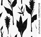 retro seamless pattern with... | Shutterstock .eps vector #1329892148