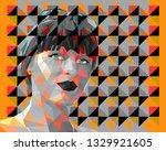 vector illustration in the... | Shutterstock .eps vector #1329921605